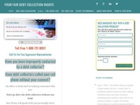 Your Fair Debt Collection Rights