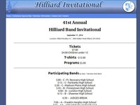 Hilliard Band Invitational